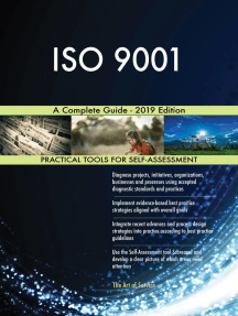ISO 9001 A Complete Guide - 2019 Edition