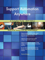 Support Automation Anywhere A Complete Guide - 2019 Edition