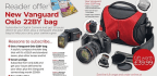 Reader offer New Vanguard Oslo 22BY bag
