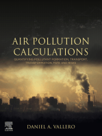 Air Pollution Calculations: Quantifying Pollutant Formation, Transport, Transformation, Fate and Risks