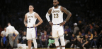 LeBron James Questions Magic Johnson's 'Weird' Departure From The Lakers