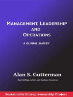Management, Leadership and Operations