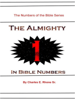 The Almighty 1 In Bible Numbers