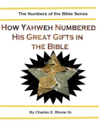 How Yahweh Numbered His Great Gifts in the Bible