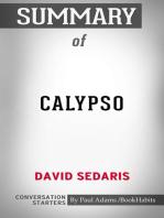 Summary of Calypso by David Sedaris | Conversation Starters