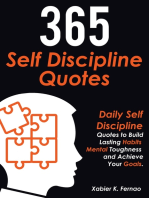 365 Self Discipline Quotes