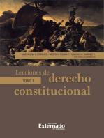 Lecciones de derecho constitucional: Tomo I
