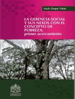 La gerencia social y sus nexos con el concepto de la pobreza: Primer acercamiento