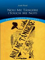 Noli Me Tángere (Touch Me Not)