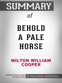 Summary of Behold a Pale Horse