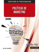 Políticas de marketing (MF2185_3): Ventas y marketing