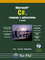 Microsoft C#. Lenguaje y Aplicaciones. 2ª Edición.