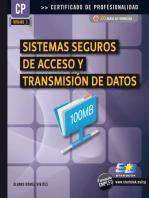 Sistemas Seguros de Acceso y Trans. de Datos (MF0489_3)