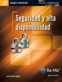 Seguridad y Alta Disponibilidad (GRADO SUPERIOR): SEGURIDAD INFORMÁTICA