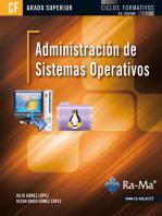 Administración de Sistemas Operativos: SISTEMAS OPERATIVOS