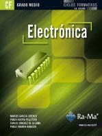 Electrónica (GRADO MEDIO): INGENIERÍA ELECTRÓNICA Y DE LAS COMUNICACIONES