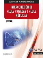 Interconexión de Redes Privadas y Redes Publicas. (MF0956_2): Gestión de redes