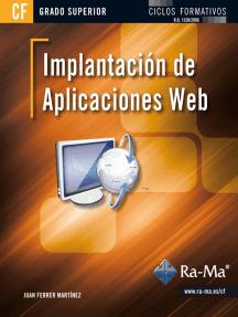 Implantación de aplicaciones web (GRADO SUP.): Internet: obras generales