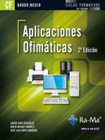 Aplicaciones Ofimáticas. 2ª Edición (GRADO MEDIO)