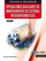 Operaciones Auxiliares de Mantenimiento de Sistemas Microinformáticos (MF1208_1)