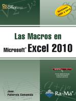 Las Macros en Excel 2010: Hojas de cálculo