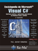 Enciclopedia de Microsoft Visual C#.