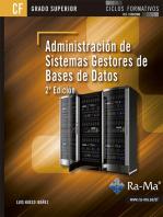 Administración de Sistemas Gestores de Base de Datos. 2ª Edición: BASES DE DATOS