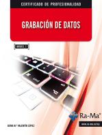 Grabación de Datos (MF0973_1): Ofimática