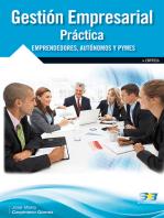 Gestión Empresarial Práctica.: ECONOMÍA, FINANZAS, EMPRESA Y GESTIÓN