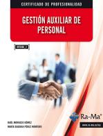 Gestión auxiliar de personal (MF0980_2): ECONOMÍA, FINANZAS, EMPRESA Y GESTIÓN