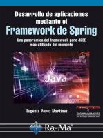 Desarrollo de aplicaciones mediante el Framework de spring.