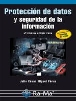 Protección de Datos y Seguridad de la Información: SEGURIDAD INFORMÁTICA