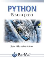 Python Paso a paso