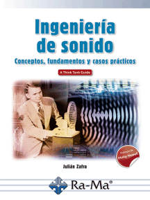 Ingeniería de Sonido. Conceptos, fundamentos y casos prácticos: CINE, TELEVISIÓN Y RADIO