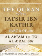 The Quran With Tafsir Ibn Kathir Part 8 of 30
