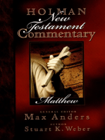 Holman New Testament Commentary - Matthew
