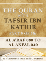 The Quran With Tafsir Ibn Kathir Part 9 of 30