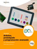 Aprender Arduino, prototipado y programación avanzada con 100 ejercicios