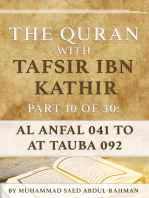 The Quran With Tafsir Ibn Kathir Part 10 of 30