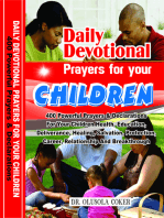 Daily Devotional Prayers For Your Children