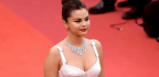 Selena Gomez Knows That Cannes Is Much More Fun in Leather and Diamonds