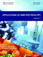 Applications of NMR Spectroscopy Volume 7
