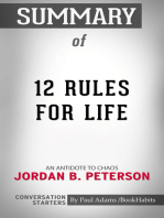 Summary of 12 Rules for Life: An Antidote to Chaos | Conversation Starters