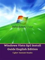 Windows Vista Sp2 Install Guide English Edition