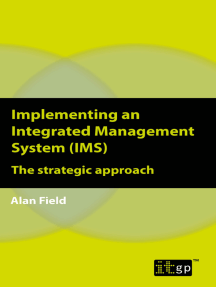 Implementing an Integrated Management System (IMS): The strategic approach