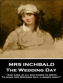 The Wedding Day: 'And aims, in all she dares to write, To make her Wedding Day—a merry night''