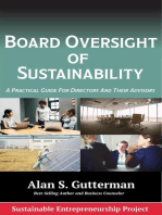 Board Oversight of Sustainability