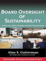 Board Oversight of Sustainability