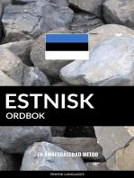 Estnisk ordbok