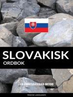 Slovakisk ordbok